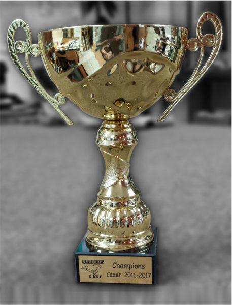 Gravure sur trophée pour récompense sportive