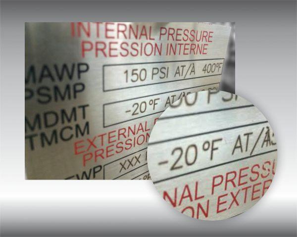 marquage au laser sur acier, acier inoxydable, aluminium et tous autres métaux