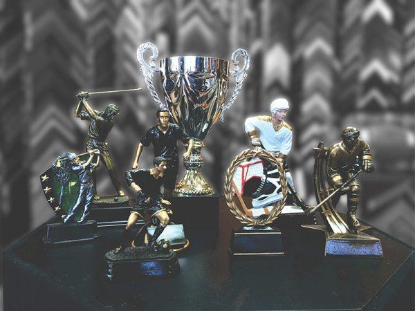 Trophée pour équipes sportives et différentes disciplines
