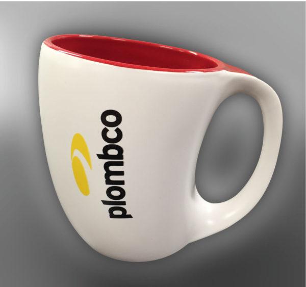 Sérigraphie 2 couleurs sur tasse pour Plombco