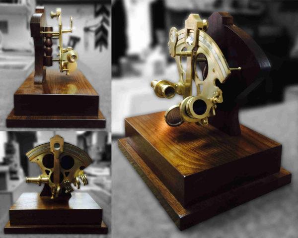 Base en bois sur mesure pour sextan