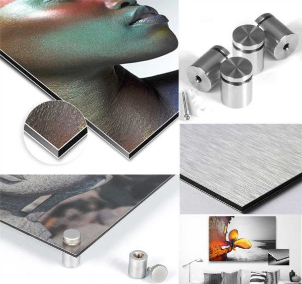 Impression sur métal