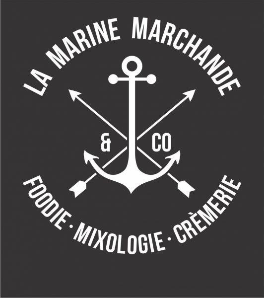 Création de Logo pour le Restaurant LA MARINE MARCHANDE
