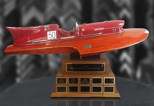 Perpetual trophy with custom base