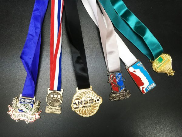 Custom cast medals