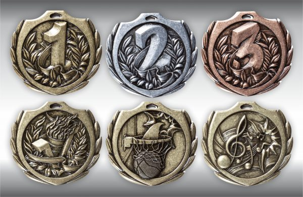 Current medals for sports and disciplines